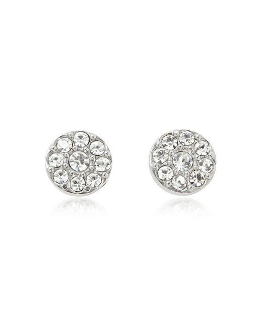Fossil - Metallic Vintage Glitz Silvertone Women's Earrings - Lyst