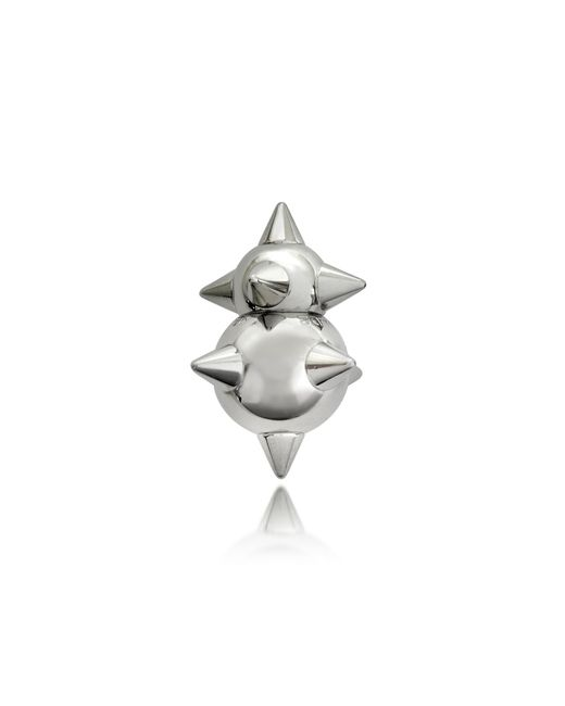 DSquared² - Metallic Pierce Me Palladium Plated Metal Spiked Single Earring - Lyst