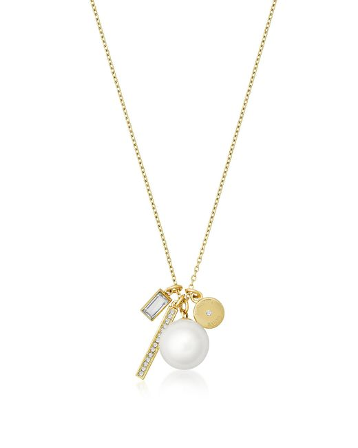 Michael Kors | Metallic Brilliance Gold-tone Metal Charms Necklace | Lyst