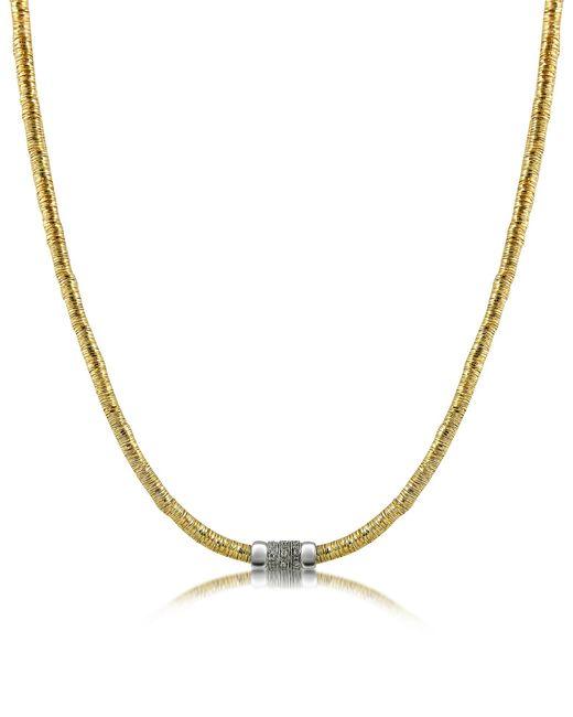 Orlando Orlandini - Metallic Capriccio - Diamond 18k Gold Chain Snake Necklace - Lyst