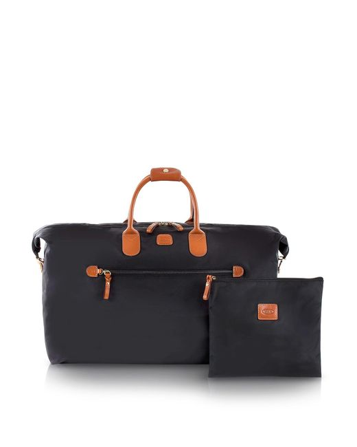 Bric's | Black X-travel Large Foldable Last-minute Holdall In A Pouch for Men | Lyst