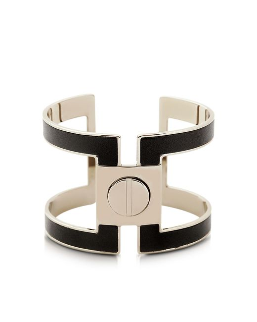 Pluma - Black Brass Single Viti Cuff In Fumoso - Lyst