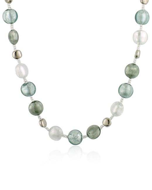 Antica Murrina | Metallic Frida - Murano Glass Bead Necklace | Lyst