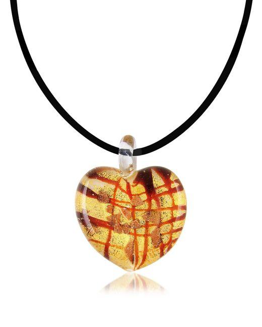 Antica Murrina - Multicolor Passione - Murano Glass Heart Pendant - Lyst