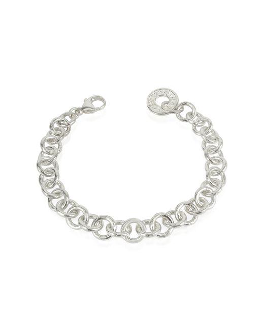 Torrini - Metallic Coin 1369 - Sterling Silver Rolo Chain Charm Bracelet - Lyst