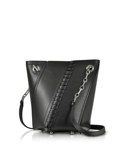 Proenza Schouler - Black Smooth Leather Mini Hex Bucket Bag - Lyst