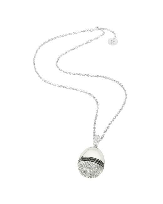 Azhar - Metallic Zircon Pendant Necklace - Lyst