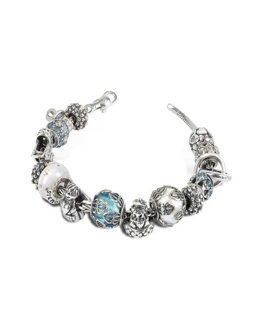 Tedora - Metallic Sterling Silver Special Moments Bracelet - Lyst