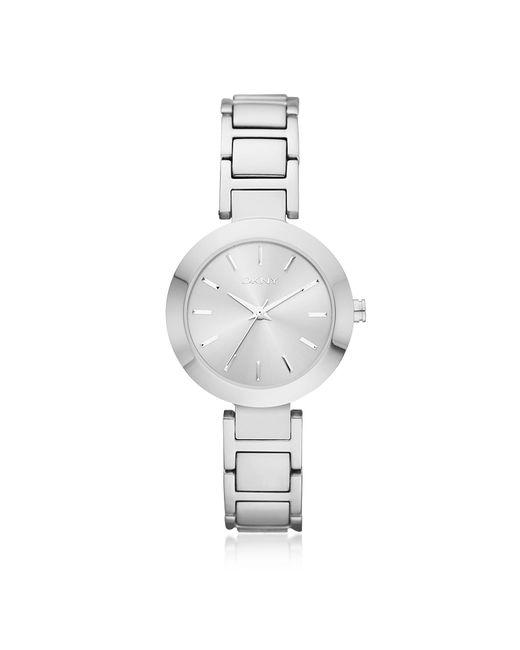 DKNY - Metallic Stanhope Silver Tone Women's Watch - Lyst