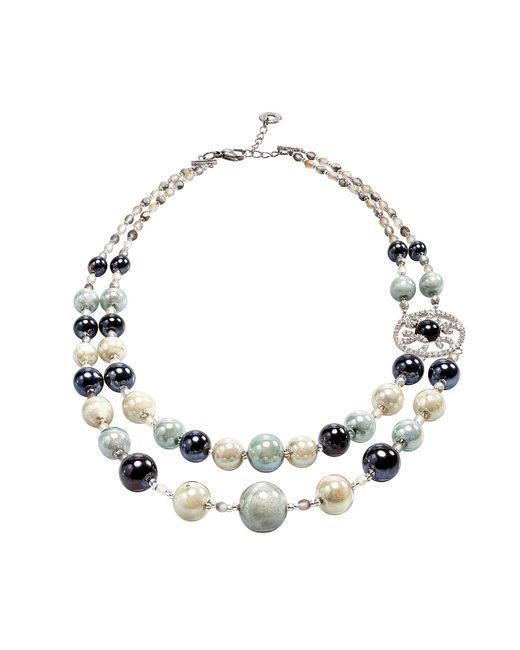 Antica Murrina - Gray Labyrinth 1 Necklace - Lyst