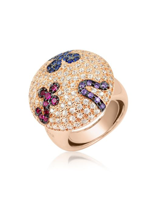 Azhar | Multicolor Fashion Ring | Lyst