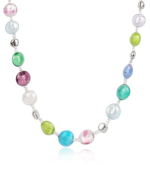 Antica Murrina | Blue Frida - Murano Glass Bead Necklace | Lyst
