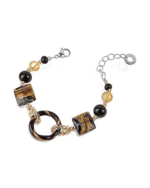 Antica Murrina | Black Bolero - Murano Glass Bead Bracelet | Lyst