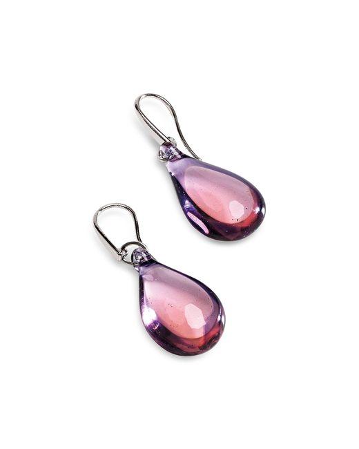 Antica Murrina | Purple Lapilli Murano Glass Drop Earrings | Lyst