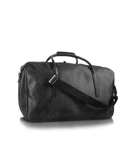 Alviero Martini 1A Classe | 1a Prima Classe - Geo Black Double Compartment Zip Travel Bag | Lyst