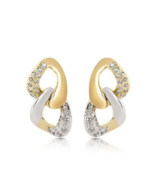 AZ Collection | Metallic Drop Earrings | Lyst