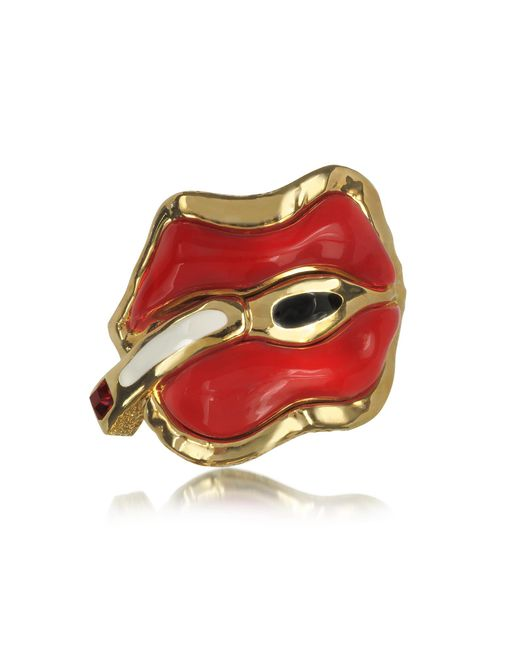 DSquared² | Red Treasures Metal And Resin Cuff | Lyst