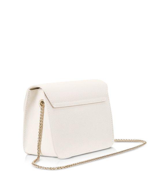 843f8b943a ... Furla - White Metropolis Petalo Leather Mini Crossbody Bag - Lyst ...