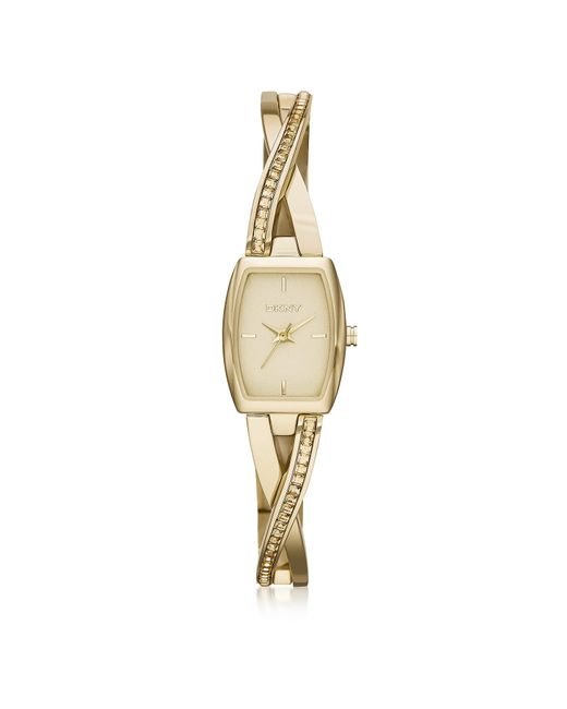 DKNY - Metallic Crosswalk Stainless Steel Women's Watch - Lyst