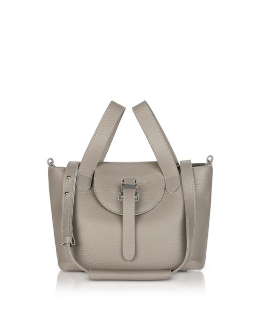Meli Melo - Gray Taupe Thela Mini Cross Body Bag - Lyst