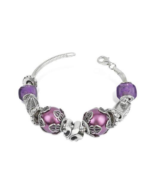 Tedora | Metallic Sterling Silver Florence Bracelet | Lyst