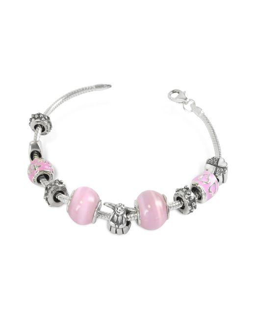 Tedora - Metallic Sterling Silver Baby Girl Bracelet - Lyst