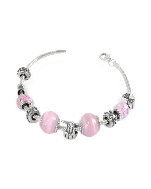 Tedora | Metallic Sterling Silver Baby Girl Bracelet | Lyst