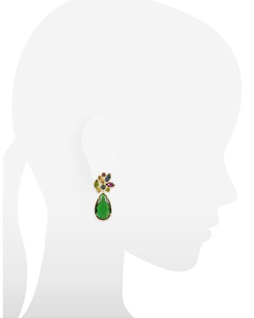 FORZIERI | Blue Crystal Drop Earrings | Lyst