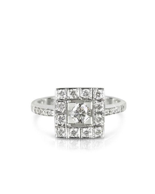 FORZIERI | 0.51 Ctw Diamond 18k White Gold Ring | Lyst
