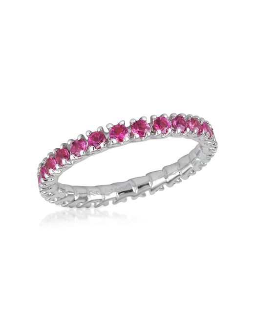 FORZIERI | Pink Sapphires 18k Gold Eternity Band | Lyst