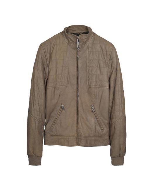 FORZIERI | Light Brown Zip Jacket | Lyst