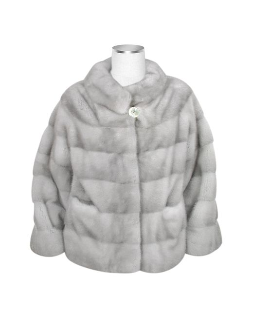 FORZIERI | Ultimate Luxury Collection Gray Mink Fur Jacket | Lyst
