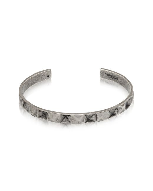 Northskull - Multicolor In 'n' Out Aged 925 Silver Plated Brass Cuff for Men - Lyst