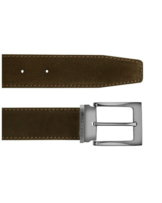 Moreschi | Dallas - Dark Brown Suede Leather Belt for Men | Lyst