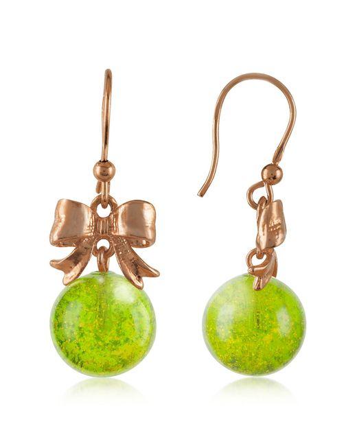 Naoto | Green Drop Earrings | Lyst