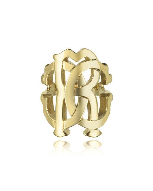 Roberto Cavalli | Metallic Rc Lux Gold Tone Ring | Lyst