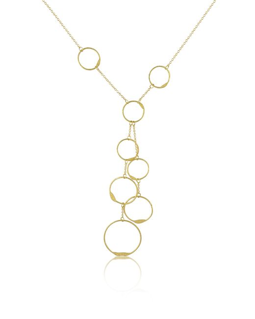 Torrini | Milly - 18k Yellow Gold Circles Drop Necklace | Lyst