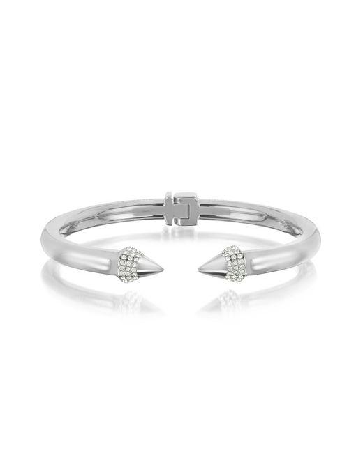 Vita Fede | Metallic Silver Plated Mini Titan Crystal Bracelet | Lyst