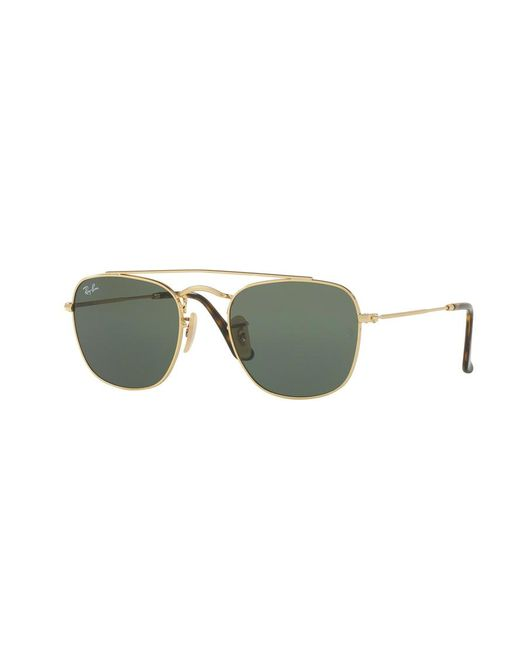 6c4d249ee4e Lyst - Ray-Ban 3557 Gold in Metallic for Men
