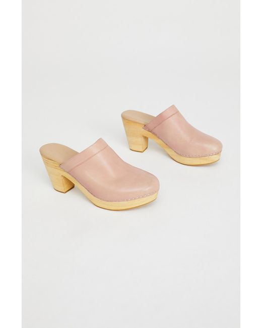 Free People - Pink Highland Park Clog By Fp Collection - Lyst