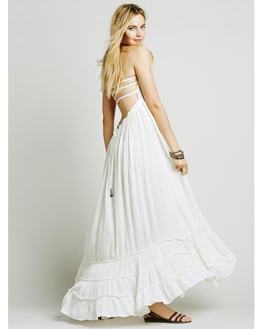 Free People | White Extratropical Dress | Lyst