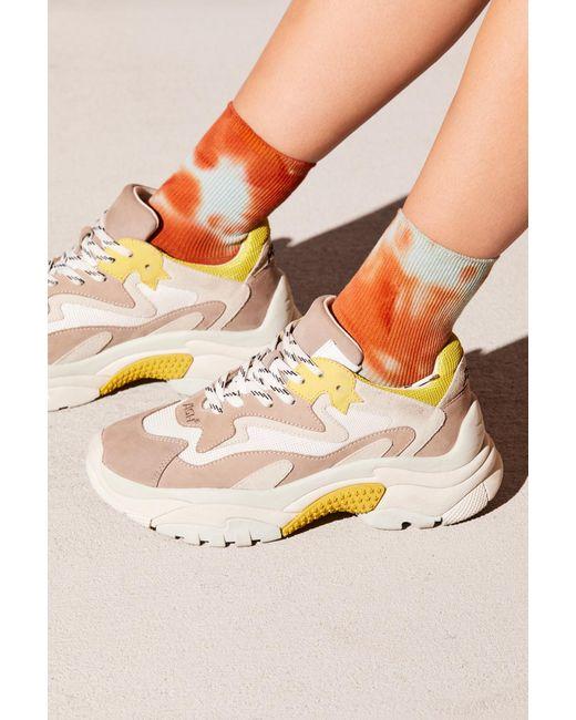 Free People - Orange Dippy Anklet - Lyst