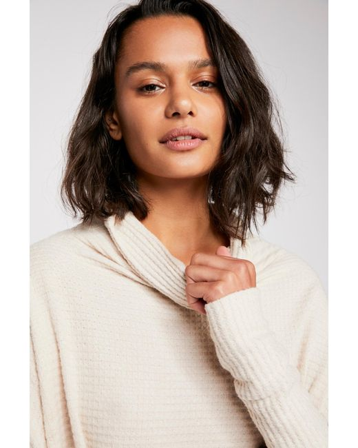 Free People - Natural We The Free Kitty Thermal - Lyst