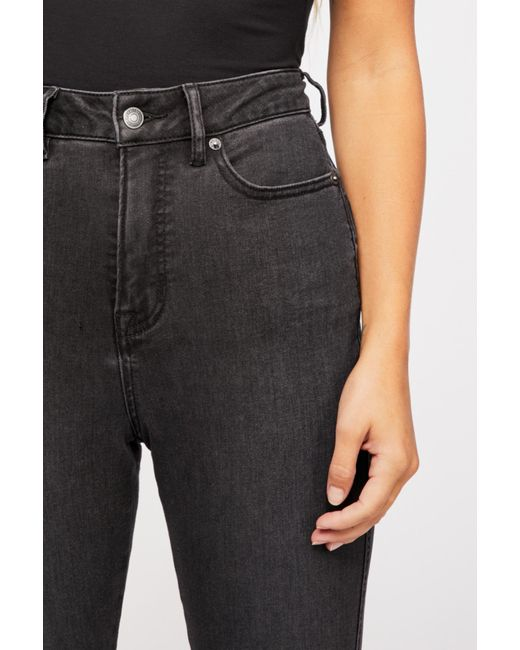 Free People - Black Crvy High-rise Super Skinny Jeans By We The Free - Lyst