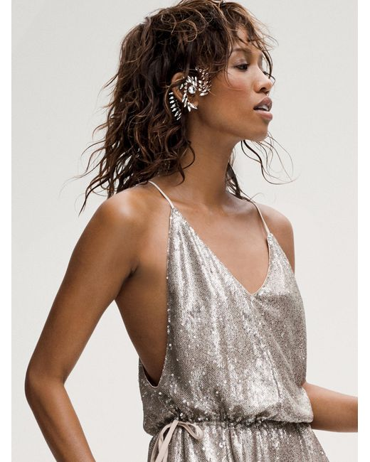 Free People | Black Beyond The Wall Ear Cage | Lyst