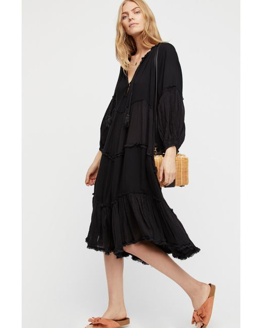 Free People - Black In The Moment Dress By Endless Summer - Lyst