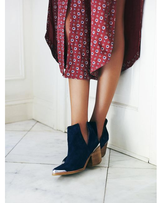 Free People | Blue Hunt The Plains Boot | Lyst