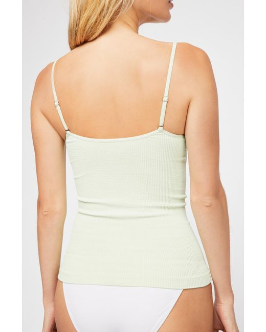 Free People - Green Come Around Cami By Intimately - Lyst