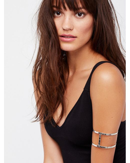 Free People | Multicolor Metal Upper Armband | Lyst