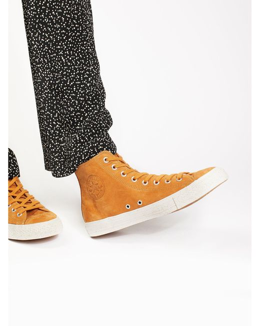 Free People | Multicolor Marble Sole High Top Sneaker | Lyst